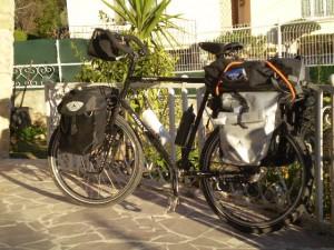 Le vélo d'Etienne
