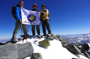 Mont Tom (4163m) - Hiver 2012