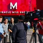 A notre arrivée à Las Vegas nous enfilons chemises et pantalons pour une interview pour FOX TV.