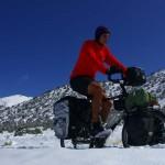 Etienne : « Malgré les difficultés à avancer et à se réchauffer dans environ 20 cm de neige, la beauté des paysages nous fait vite oublier les galères. »