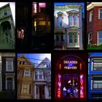 San Francisco et son style unique. Vous pouvez vous balader des jours dans les rues de SF sans vous lasser de ses couleurs, son architecture et ses habitants. Il y a de nombreuses maisons victoriennes qui sont généralement construites à base de bois de séquoia et comportent typiquement trois étages, une tour octogonale ou ronde et un porche. [Wikipedia]