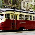 Sur Market Street, avenue principale de San Francisco menant au quartier trés chic des affaires, les Tramways ont gardé toute leur authenticité et leur charme.