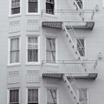 Les évacuations de secours sont devenues typiques mais aussi un style à part entière des bâtiments américains.