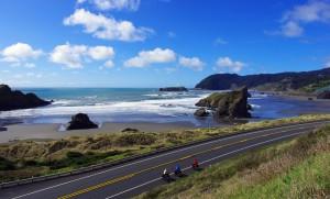 A vélo sur la côte Pacifique d'Oregon