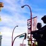 Nous ne le savions pas, mais la population de Vancouver est composée à 50 % de personnes d'origine chinoise, et 10 % supplémentaires viennent d'autres pays d'Asie (directement ou leur parents). Cela apporte une autre dimension à la ville en plus de son histoire européenne.