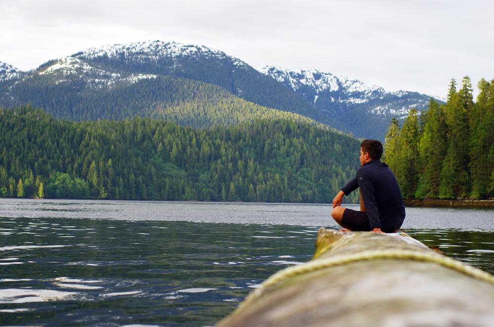 Siphay et la cote Pacifique de la British Columbia