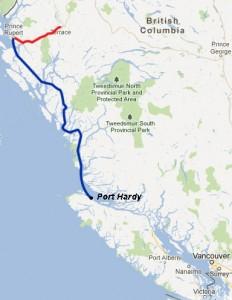 The Inside Passage, British Columbia