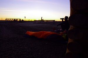 Presque 20h d'attente à Prudhoe Bay
