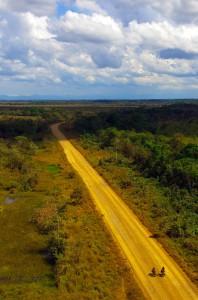 Traversée de l'Amazonie à vélo