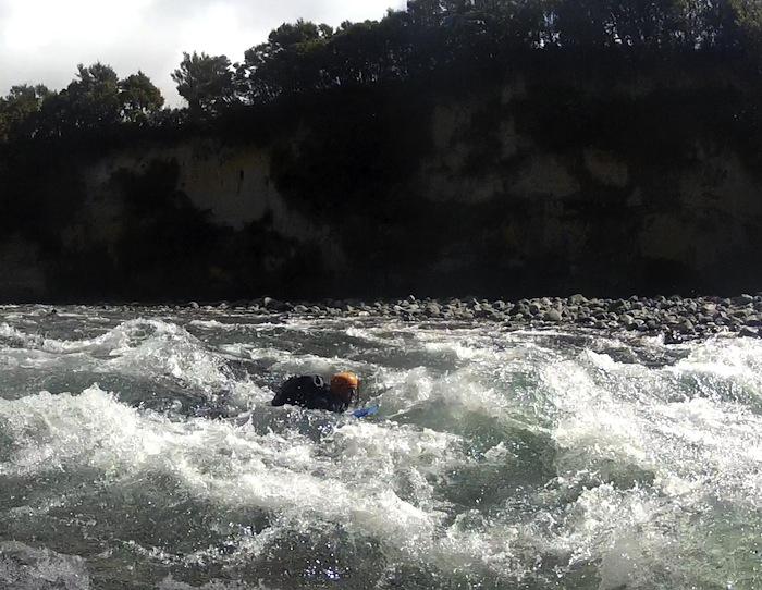 Etienne sur la Tongariro River