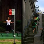 Le train de vie sportif de l'habitant moyen de Sydney : faire de l'exercice tous les soirs en plein centre-ville avec les équipements publics à disposition un peu partout dans l'immensité de la ville. Aller au boulot à vélo est facile : la ville est bien équipée pour les cyclistes avec toutes ses bike lanes.