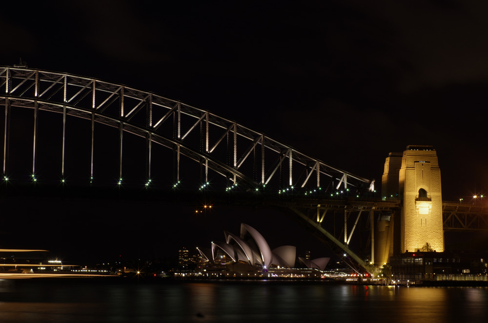 L'Opéra de Sydney et l'Harbor Bridge