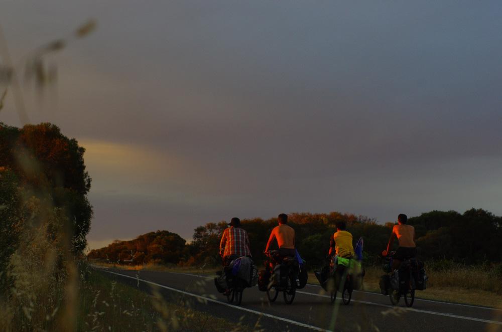 Derniers km avec Koya vers Adelaide
