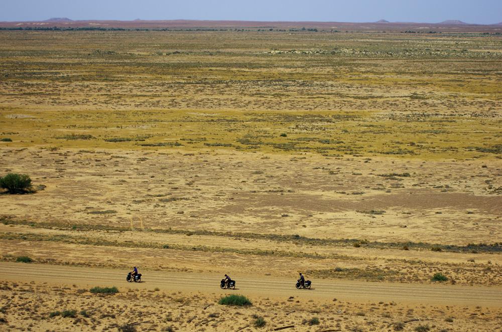 L'Outback vu d'en haut