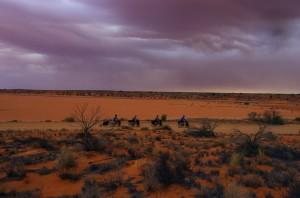 Lumières surnaturelles du désert
