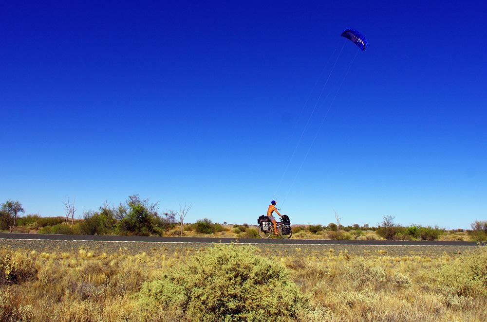 Kite-bike !
