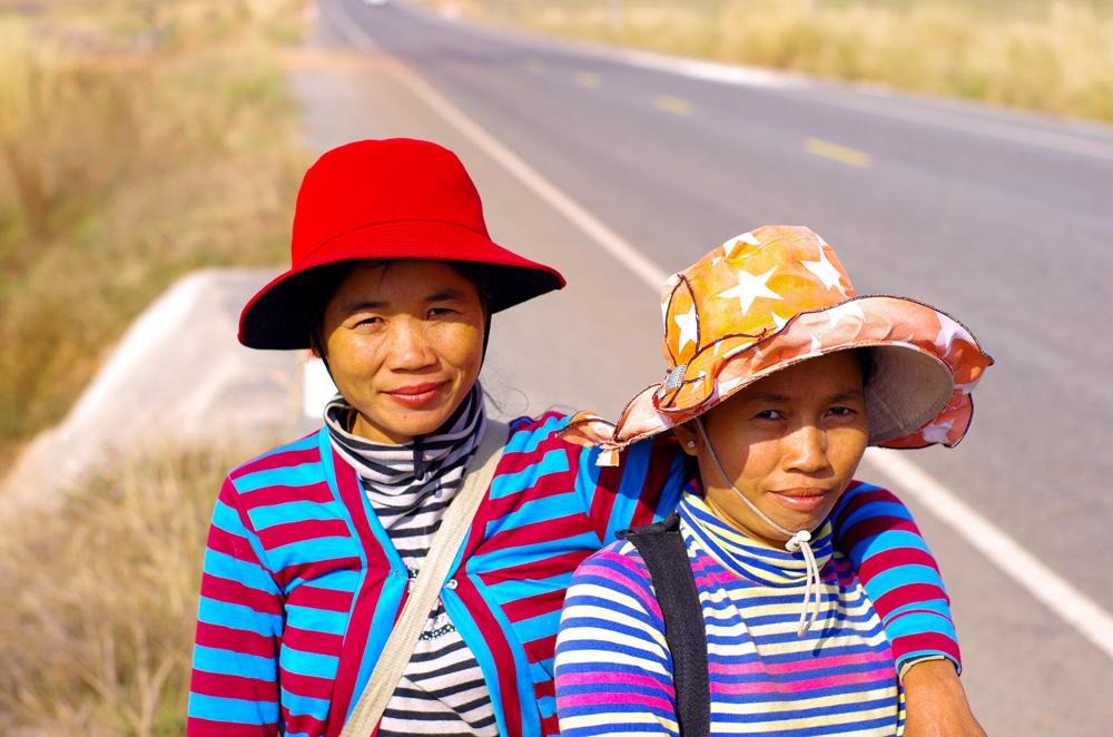 Le sourire sincère cambodgien