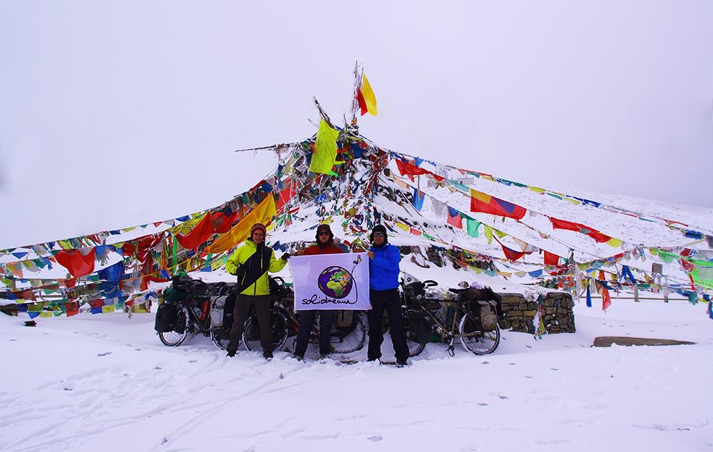 Au sommet à 4000 m