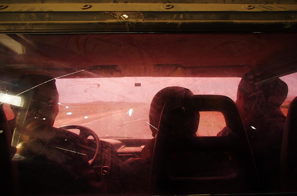 Dans le taxi pour la frontière tadjik
