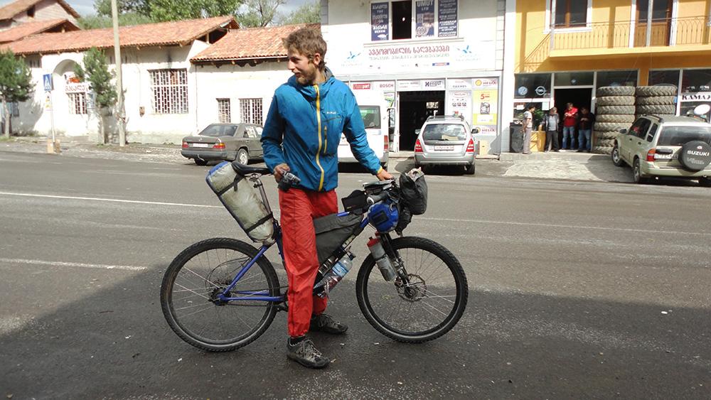 Birk sur son vélo ultre léger