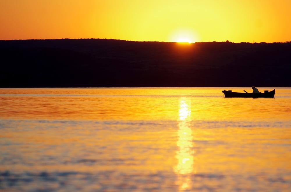 Le soir le long du Danube la nature nous rappelle à quel point il est bon de vivre dehors.