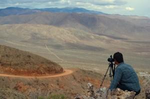Prise d'image dans Death Valley, USA