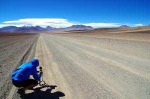 A près de 5000m d'altitude en Bolivie