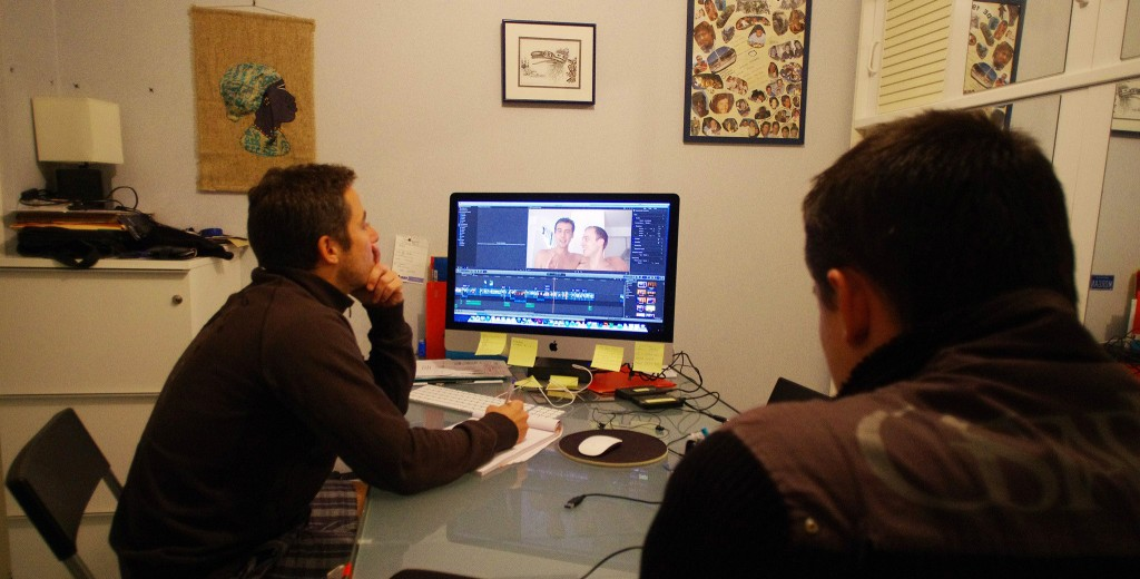Réalisation et montage du film