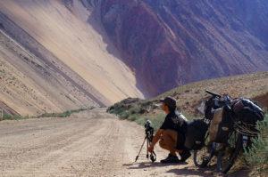 Tournage en Asie centrale